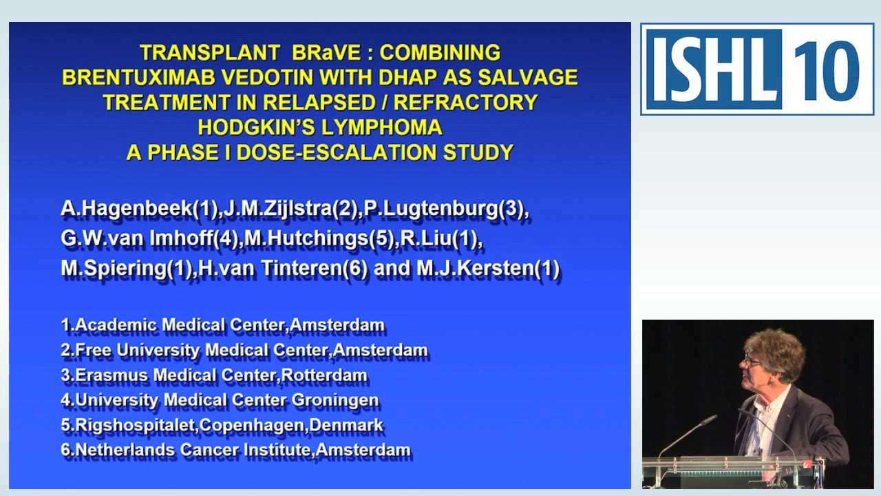 TRANSPLANT BRaVE: combining Brentuximab Vedotin with DHAP as salvage treatment in relapsed / refractory Hodgkin Lymphoma (HL). A phase 1 dose- escalation study