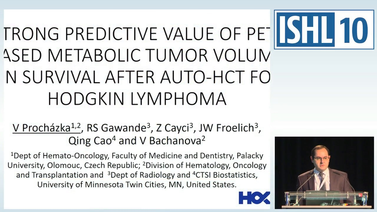 Strong predictive value of PET based metabolic tumor volume on survival after autologous HCT for Hodgkin Lymphoma