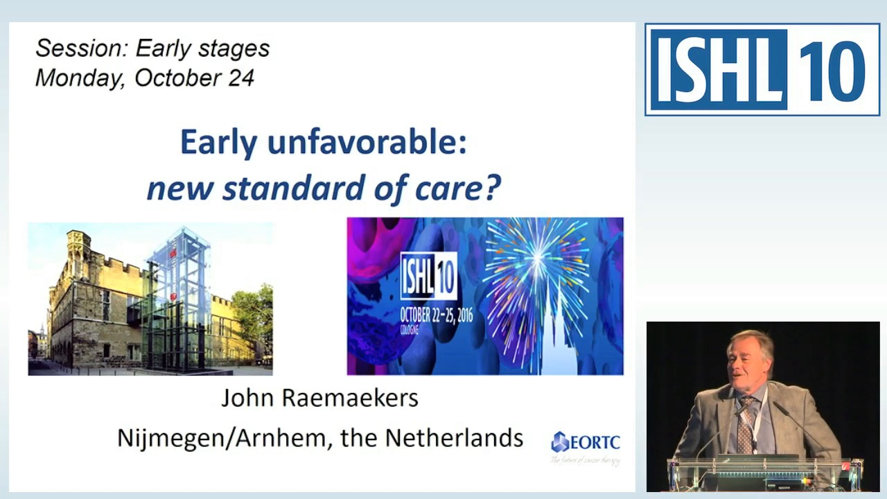 Early unfavorable: new standard of care?
