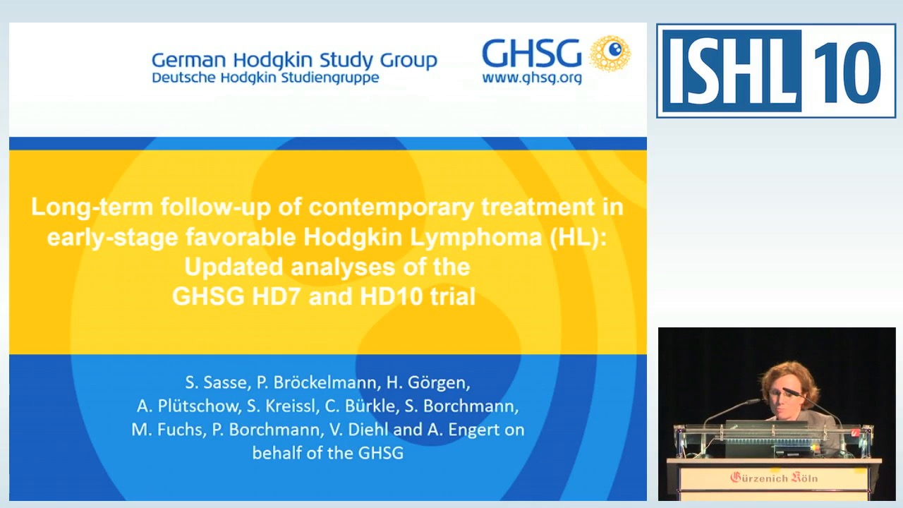 Long-term follow-up of contemporary treatment in early-stage favorable Hodgkin Lymphoma (HL): updated analyses of the German Hodgkin Study Group HD7 and HD10 trial