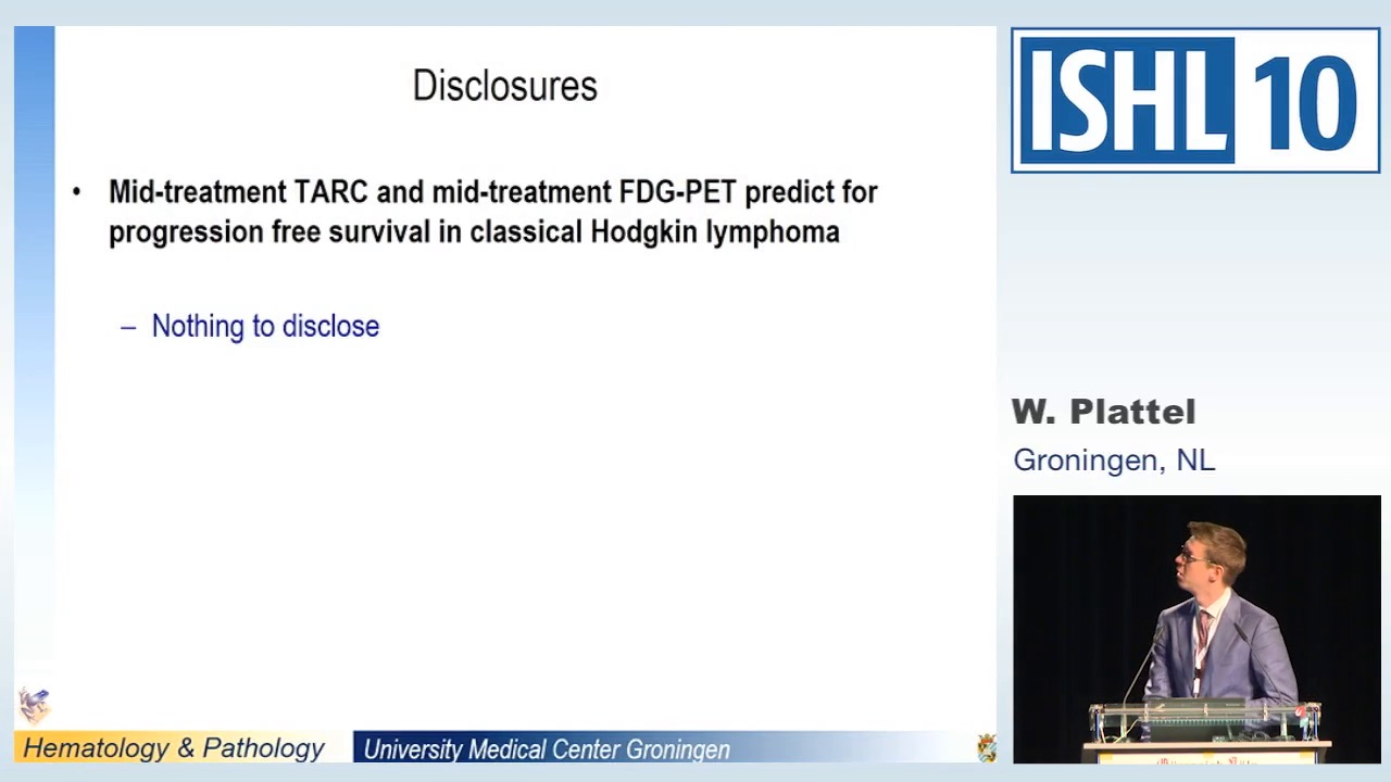Mid-treatment TARC and mid-treatment FDG-PET predict for progression free survival in classical Hodgkin Lymphoma